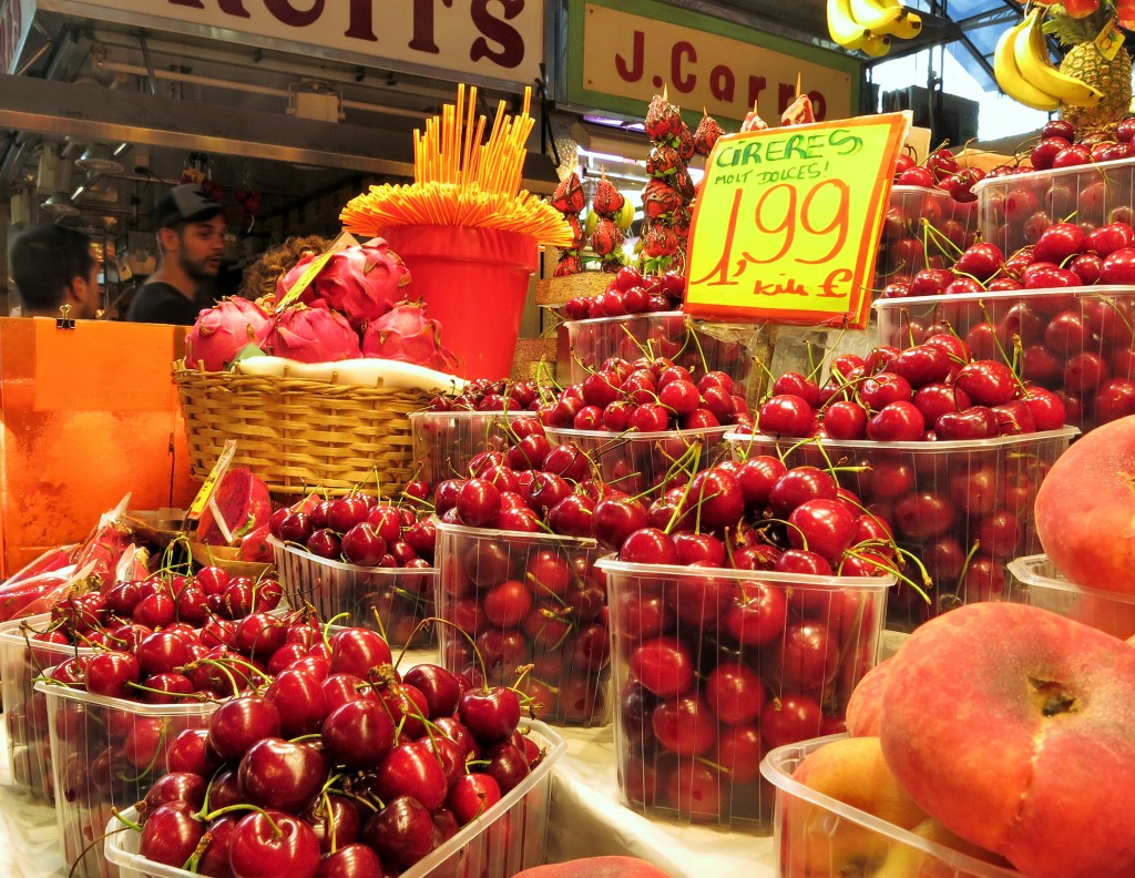 Boqueria Market Barcelona