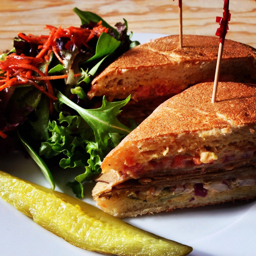 vegan Sandwich from Sweetpea Baking Company in Portland