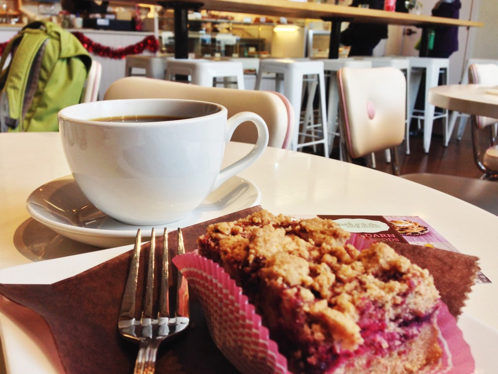 Vegan Marionberry Crumble from Petunia's Pies and Pastry Portland, Oregon