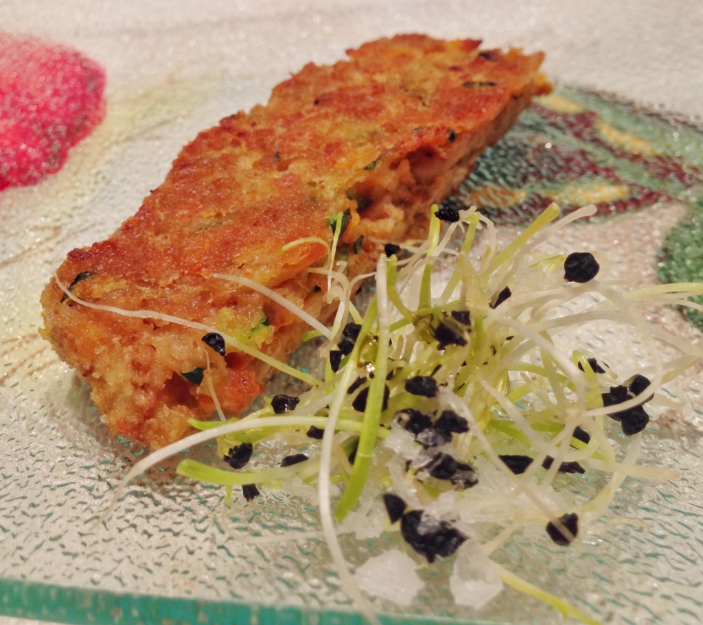 Vegetable Fritters with Spring Onions
