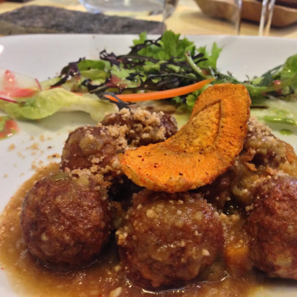 Hearty Vegan Meatballs
