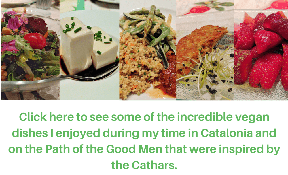 Eathing with Europe's first Vegans - the Cathars