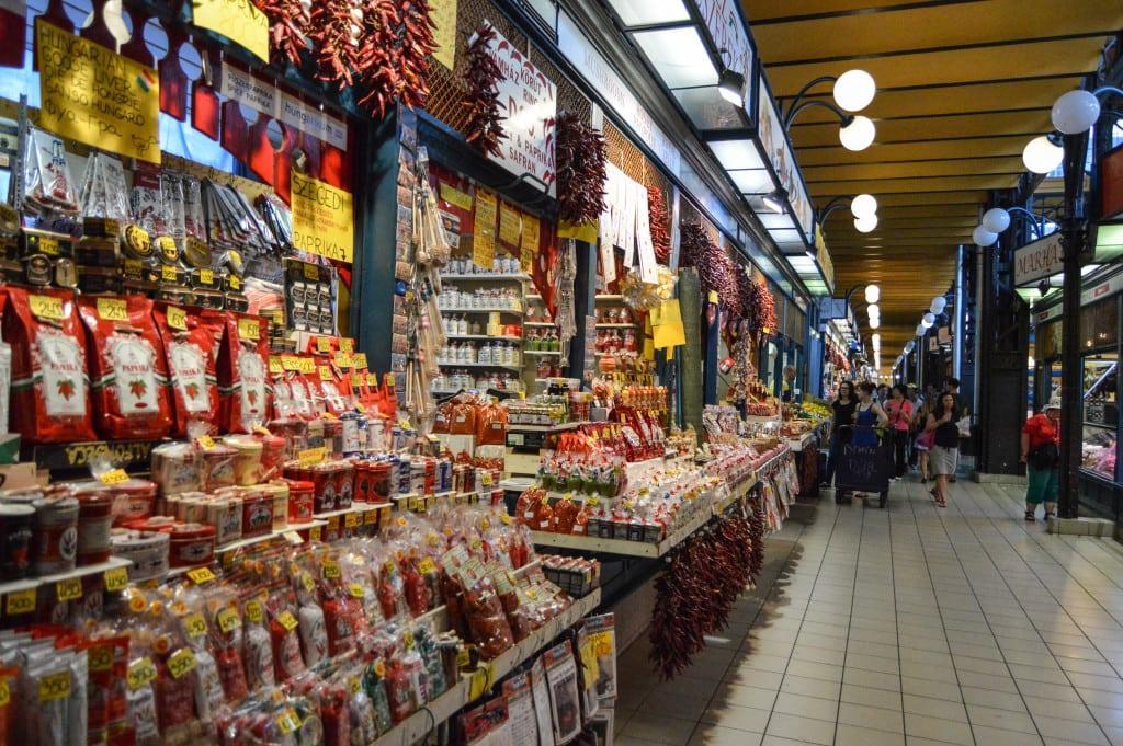 Hungarian Paprika from Belvárosi Piac Market Budapest