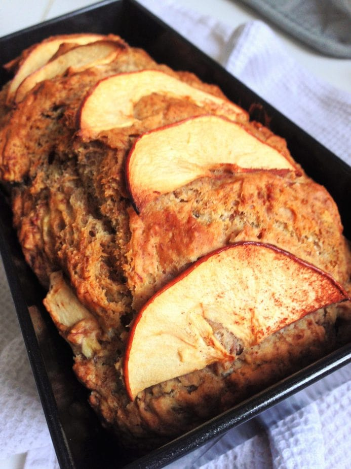 Vegan Banana Apple Bread