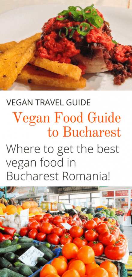 best vegan food in bucharest