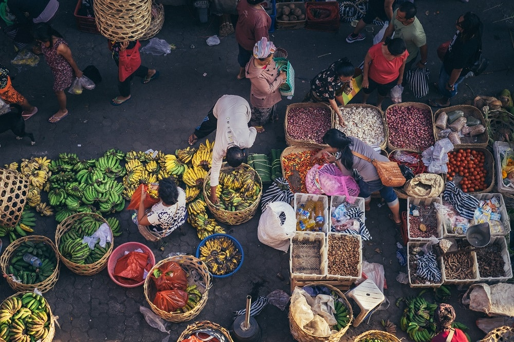 Ubud, Bali Market