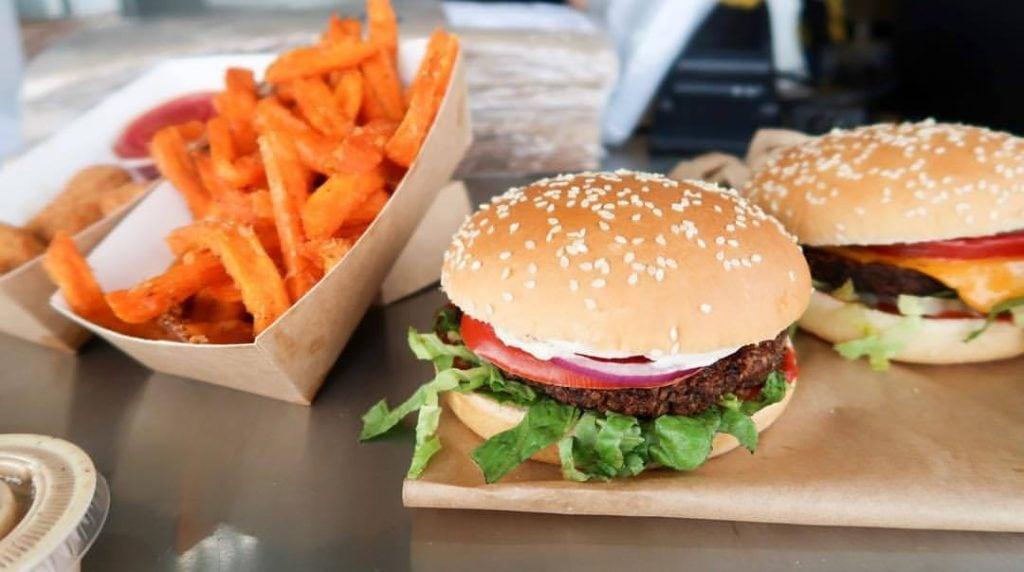GreenBurger Vegan Burger Copenhagen
