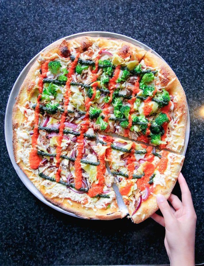 Best vegan pizza in la