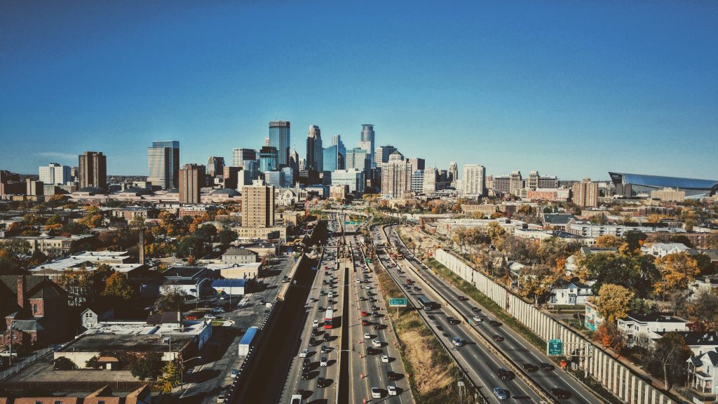 Minneapolis Skyline - Vegan Restaurants in Minneapolis Article