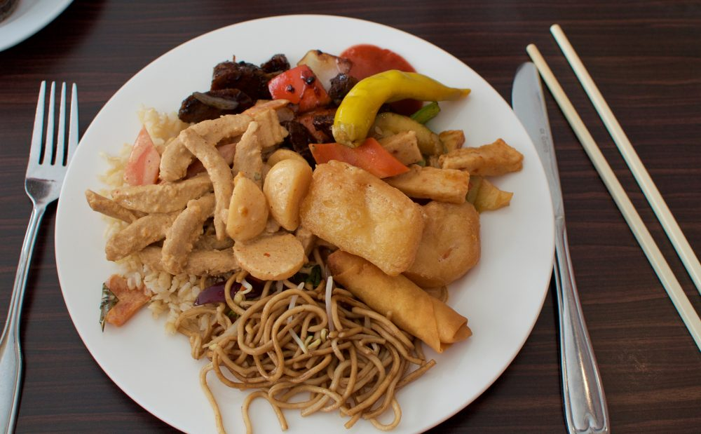 Vegegården Vegan Chinese Buffet in Malmo