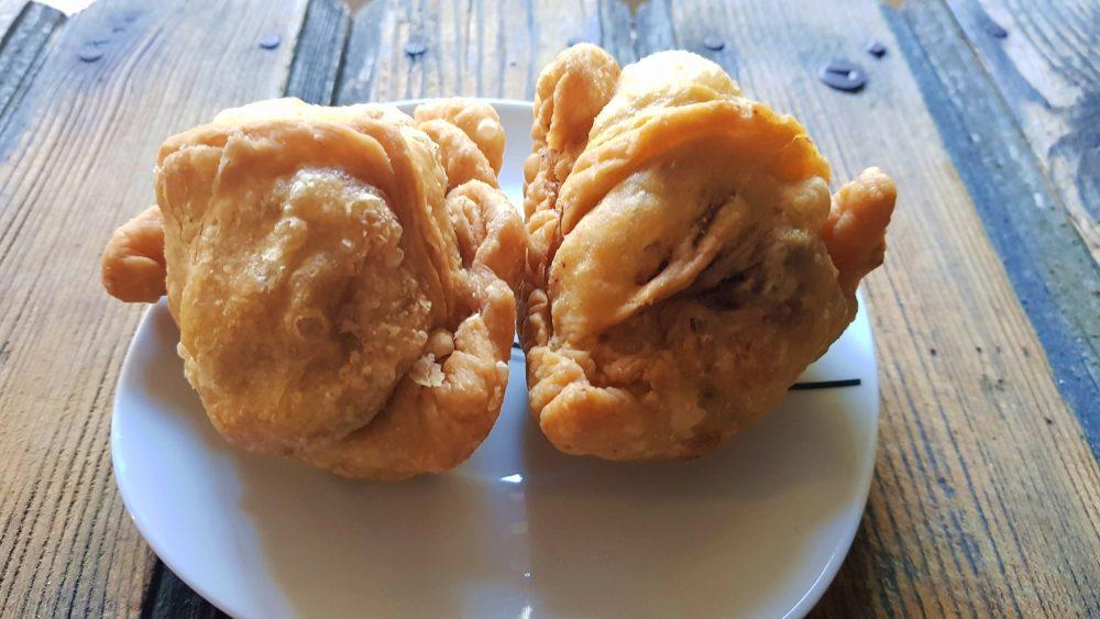 Samosas from Hariprasad Samosa & Curry
