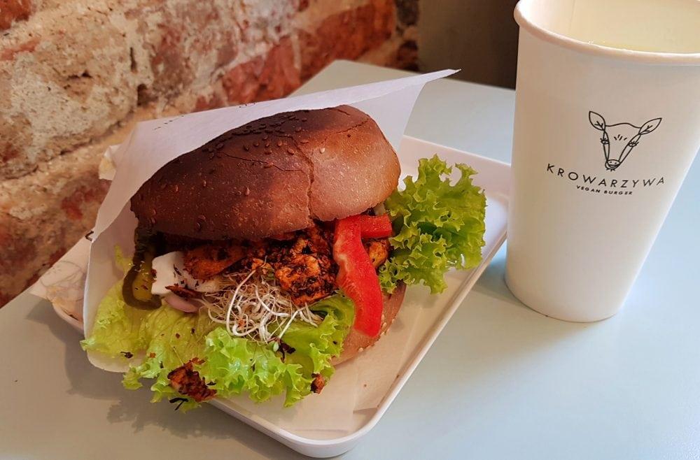 Krowarzywa Best Vegan Burgers in Krakow