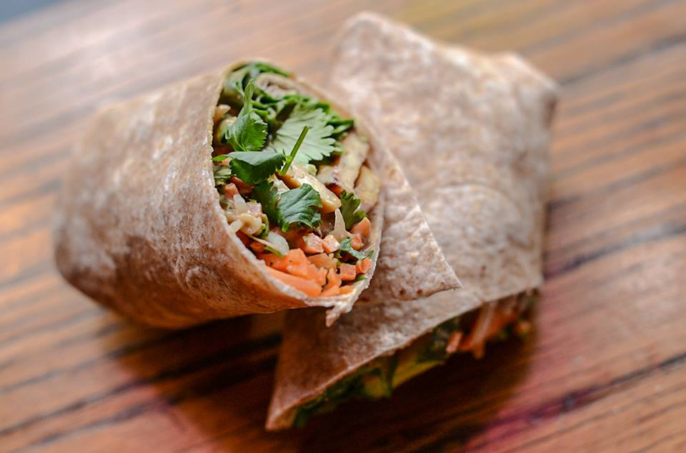 Melt Revival Cincinnati Vegan Pad Thai Wrap
