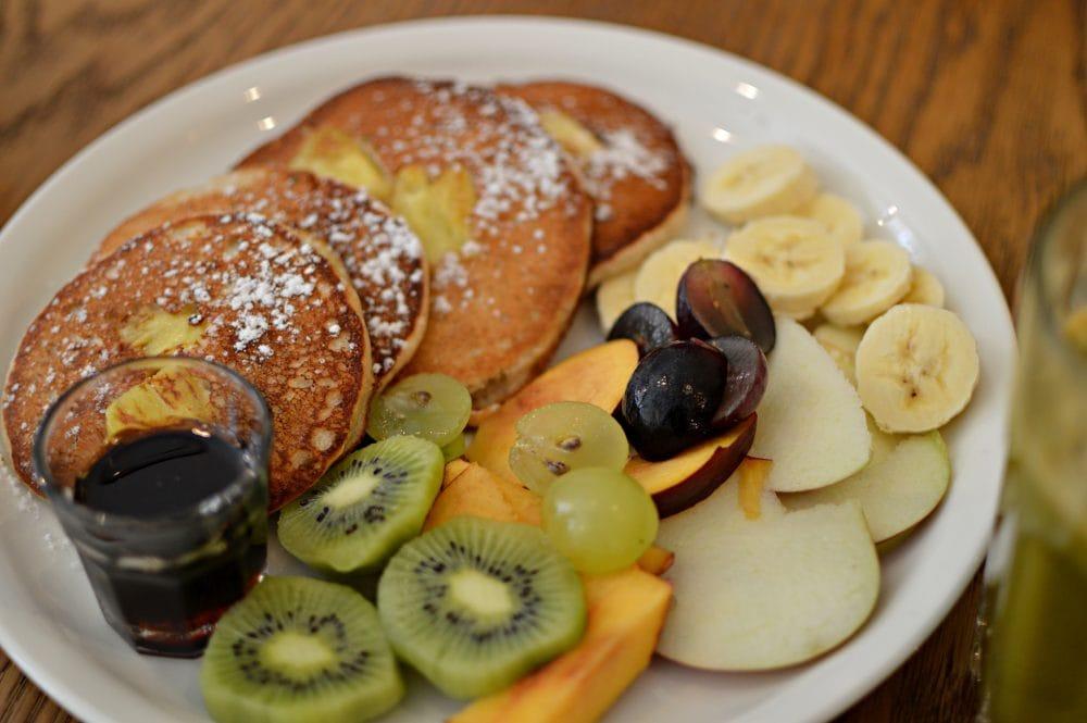 Vegan Pancakes at Mo-ja Cafe