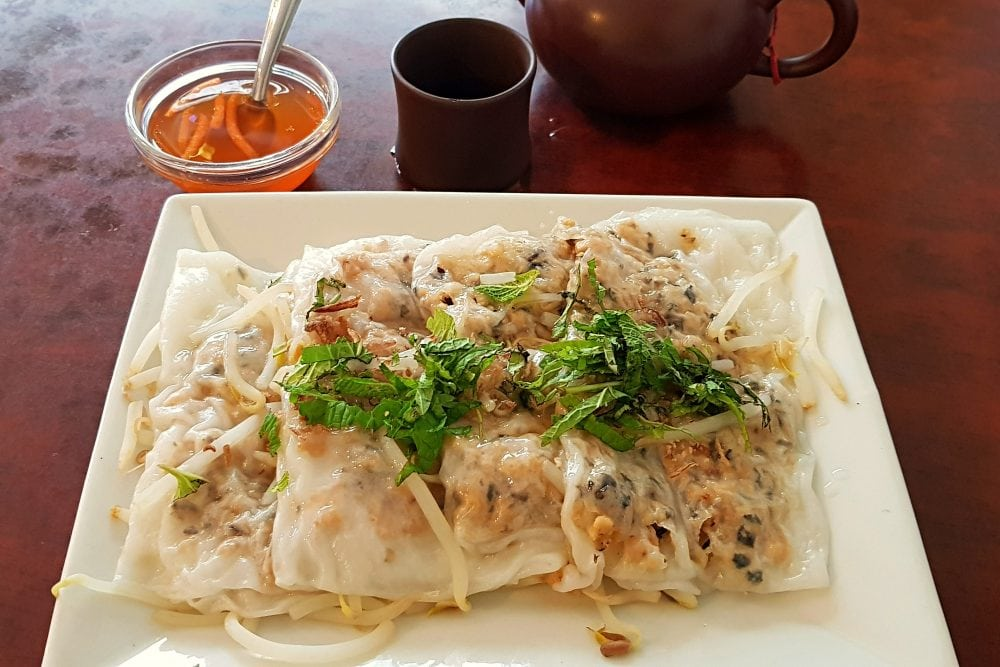 Bohdi Vegan Restaurant in Paris Vietnamese Ravioli