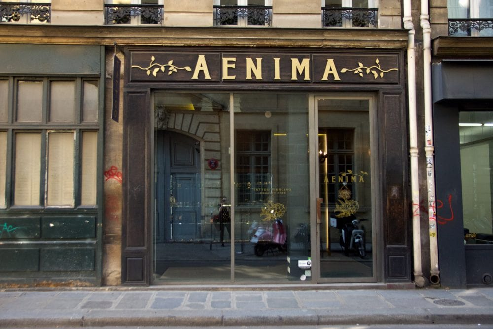 Aenima Vegan Tattoo & Piercing Shop in Paris