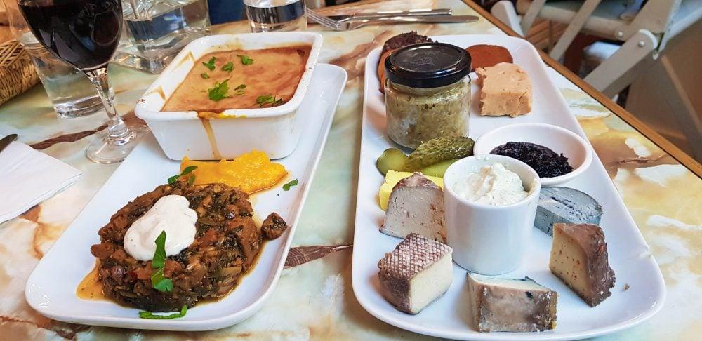 Vegan Cheese Plate at Le Faitout Paris