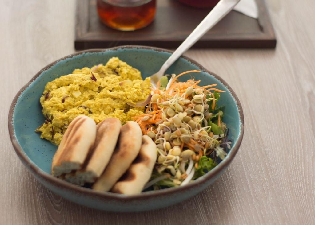 Forrest Bistro Vegan Breakfast - Tofu Scramble