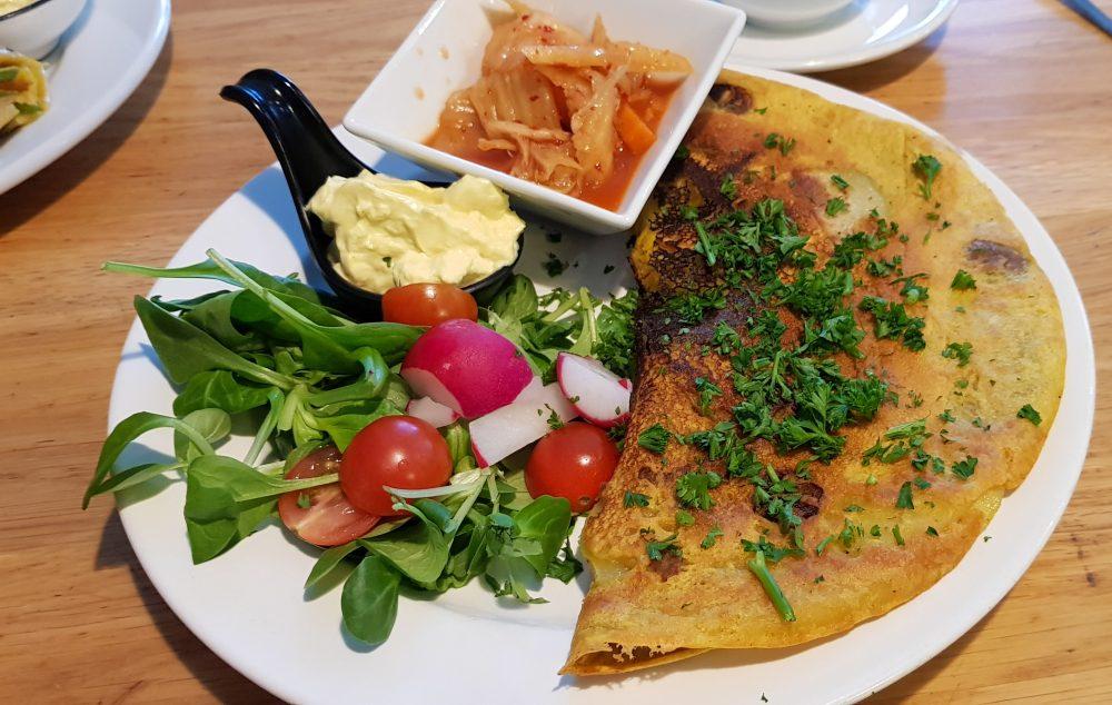 Vegan Omelette from Moment in Prague