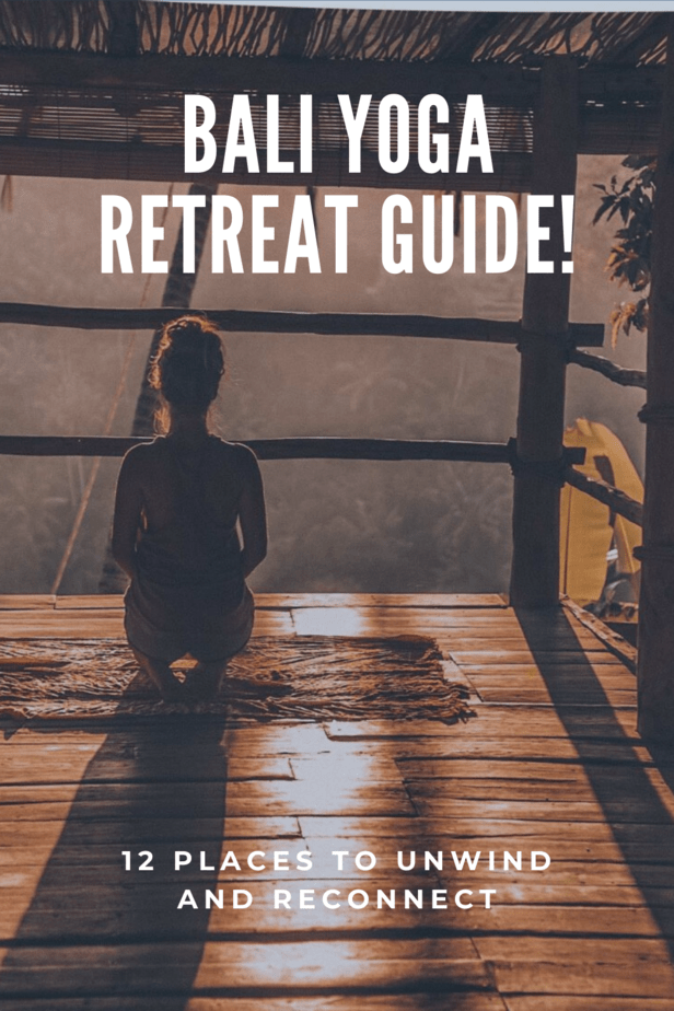 Bali is known for its beauty. So what better place to experience a yoga retreat? Here are 12 places to unwind and reconnect - 12 Awesome Bali Yoga Retreats! Plus, they're all vegan friendly! #bali #yoga #vegan