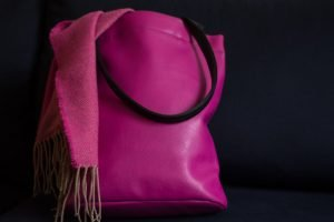 Vegan Bags - Mumray Pink Vegan Leather bag