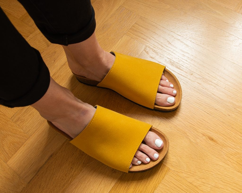 Good Guys Don't Wear Leather Vegan Sandals