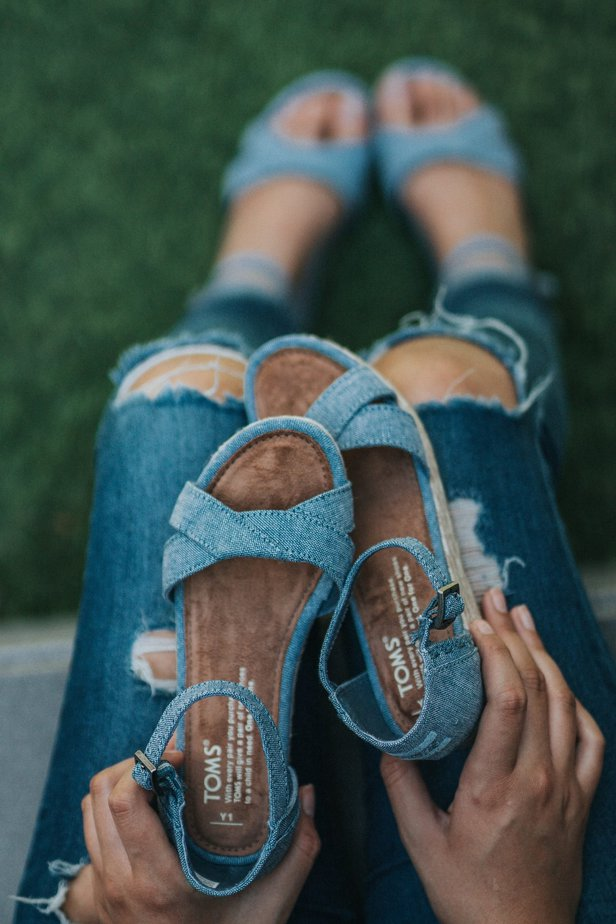 TOMS Vegan Sandals