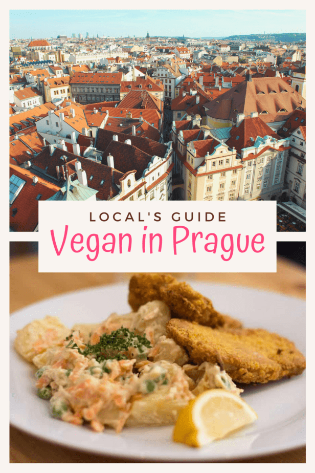 A local's guide to being vegan in Prague! Here are my top picks for the best vegan restaurants in Prague, the best vegetarian restaurants in Prague, and the best vegan-friendly restaurants in Prague!
