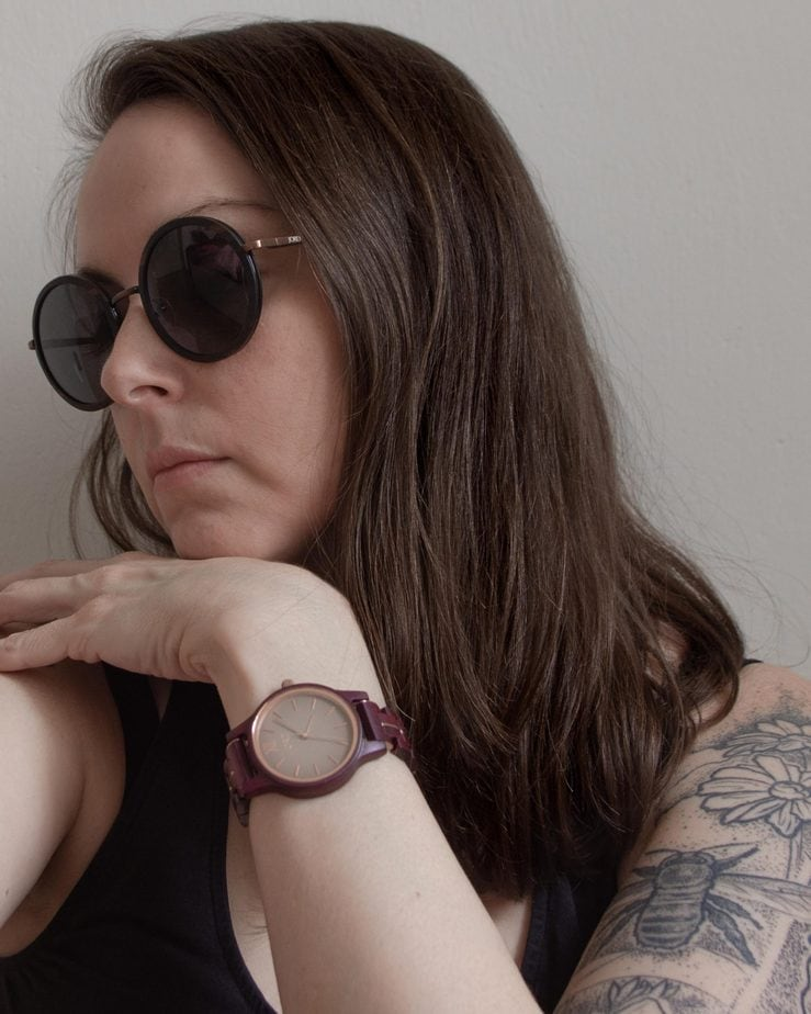 Jord Wooden Watch and sunglasses
