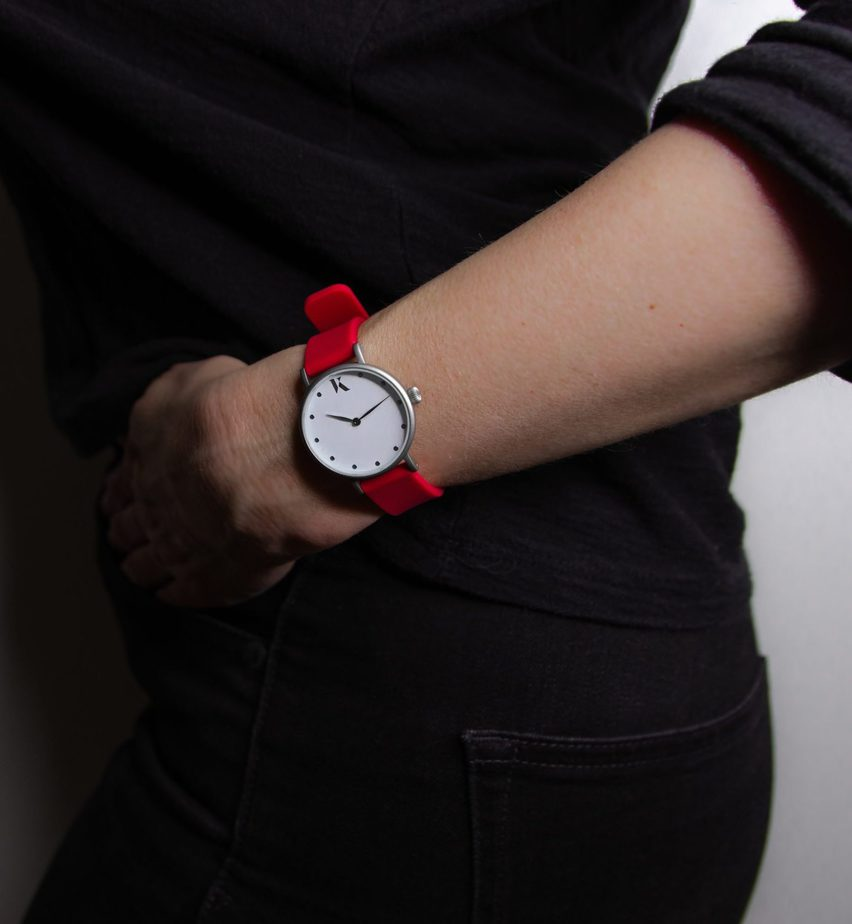 Ksana Ruby Red Vegan Watch