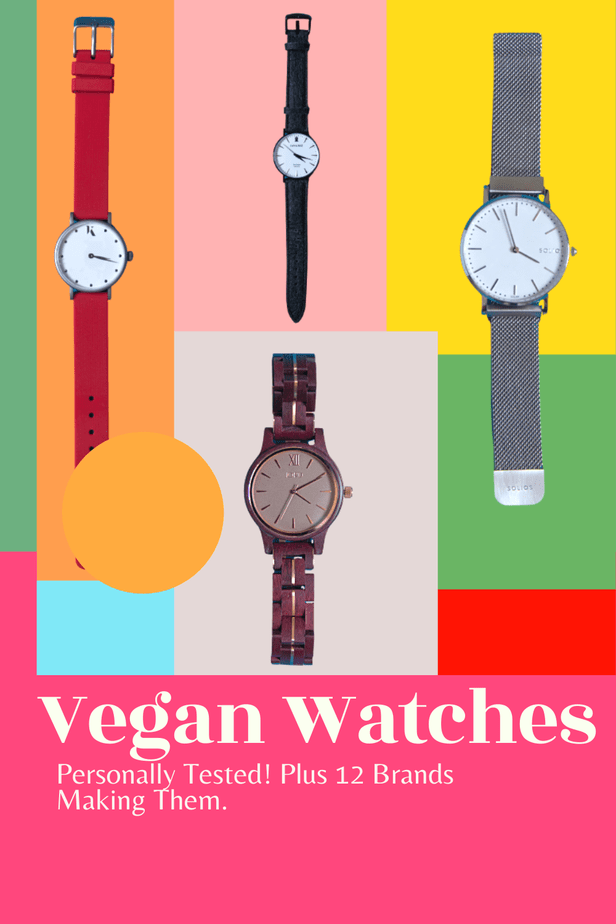 Looking for a new vegan watch? You'll quickly see there are a LOT of brands making vegan watches these days. So, here are 12 of the best. Plus, I've PERSONALLY TESTED several of them and shared my opinion.