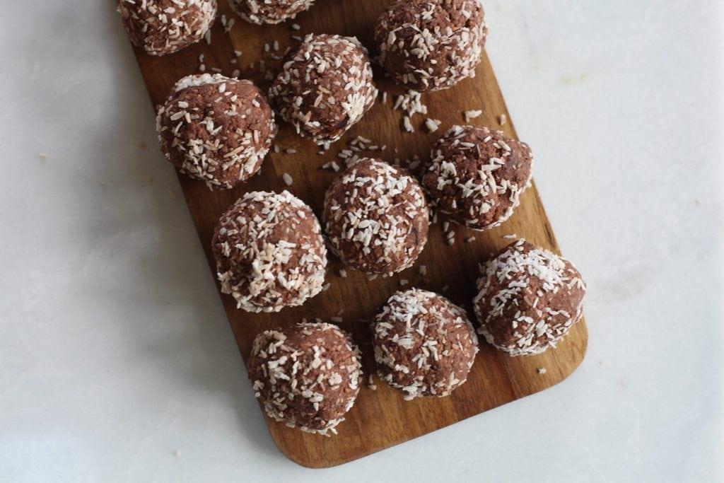 vegan chocolate basket