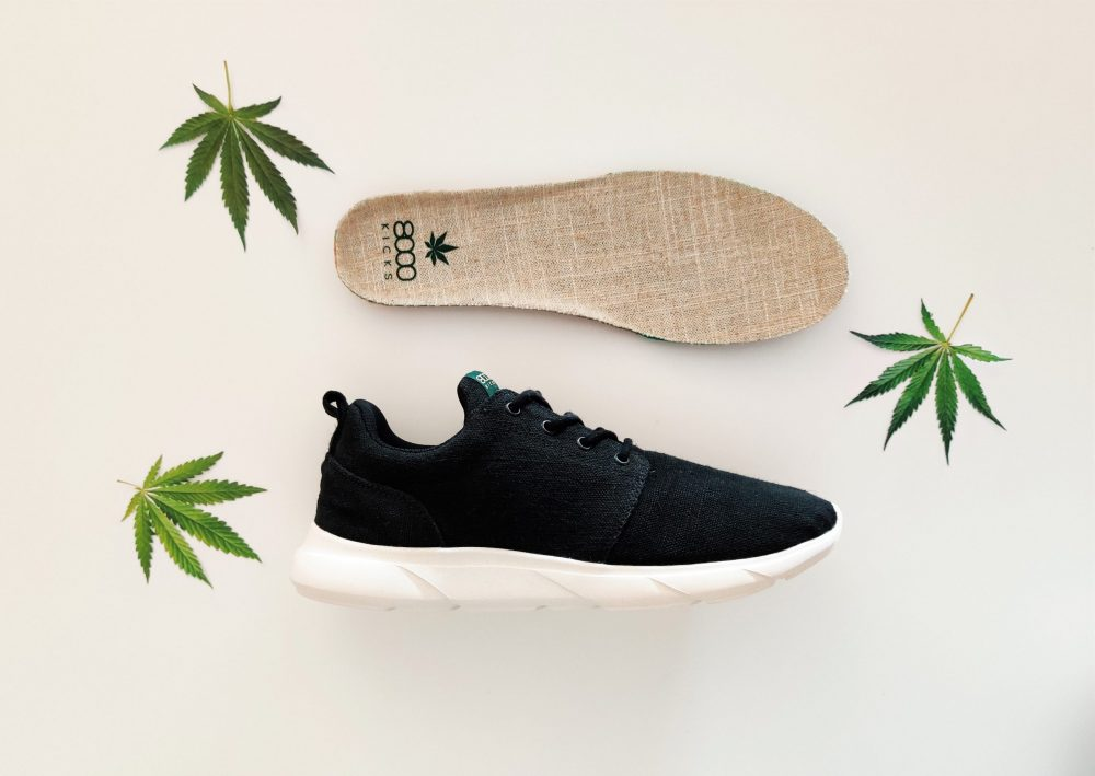 8000Kicks Vegan Hemp Sneakers