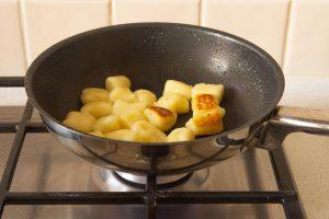 How to fry vegan gnocchi