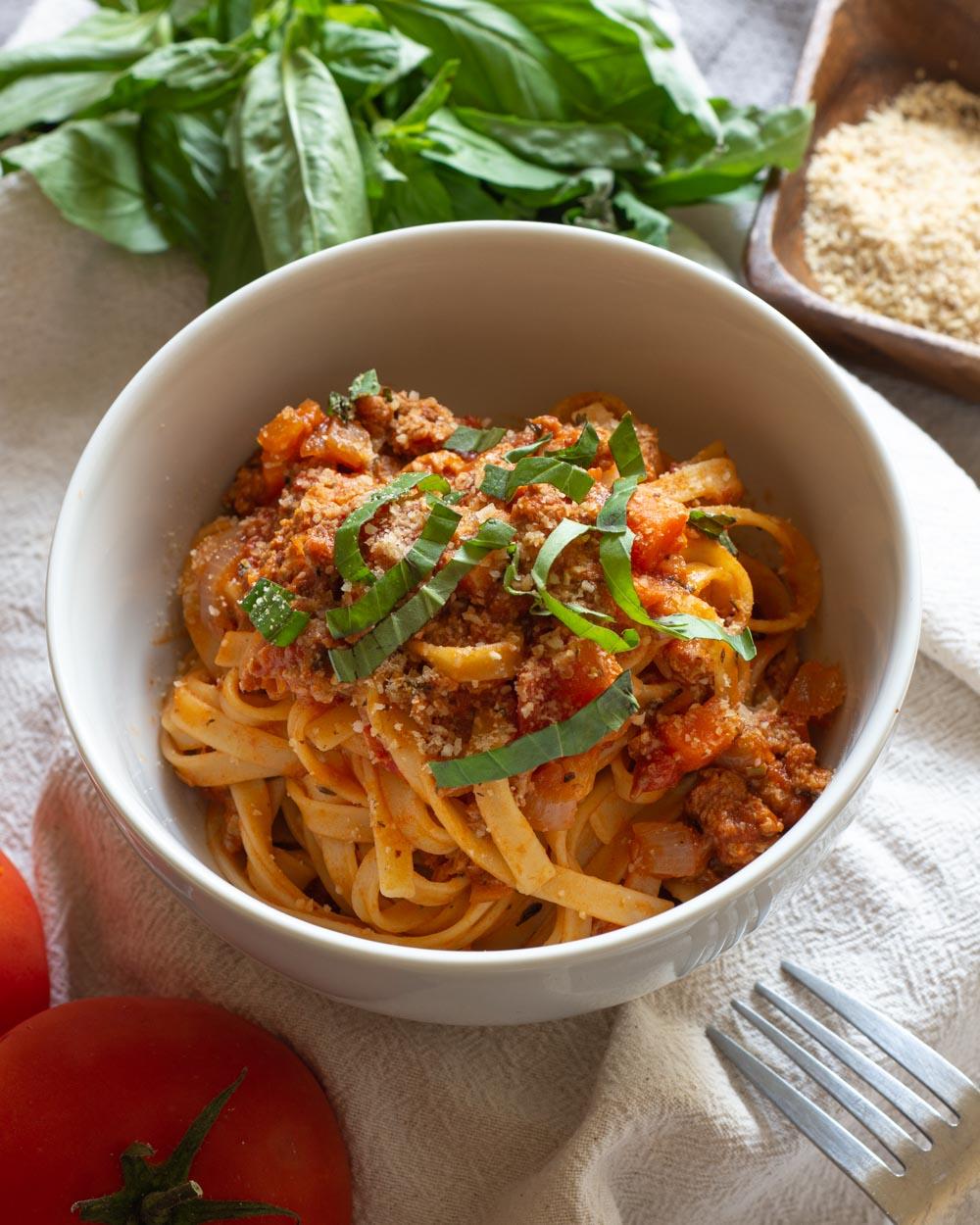 Vegan Bolognese Sauce Recipe
