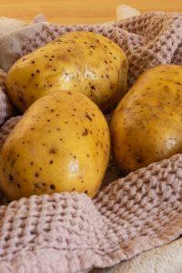 Washed Potatoes
