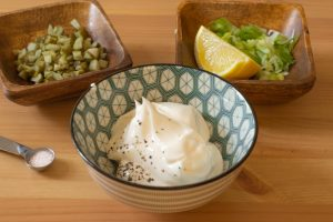 Vegan Tartare Sauce Ingredients