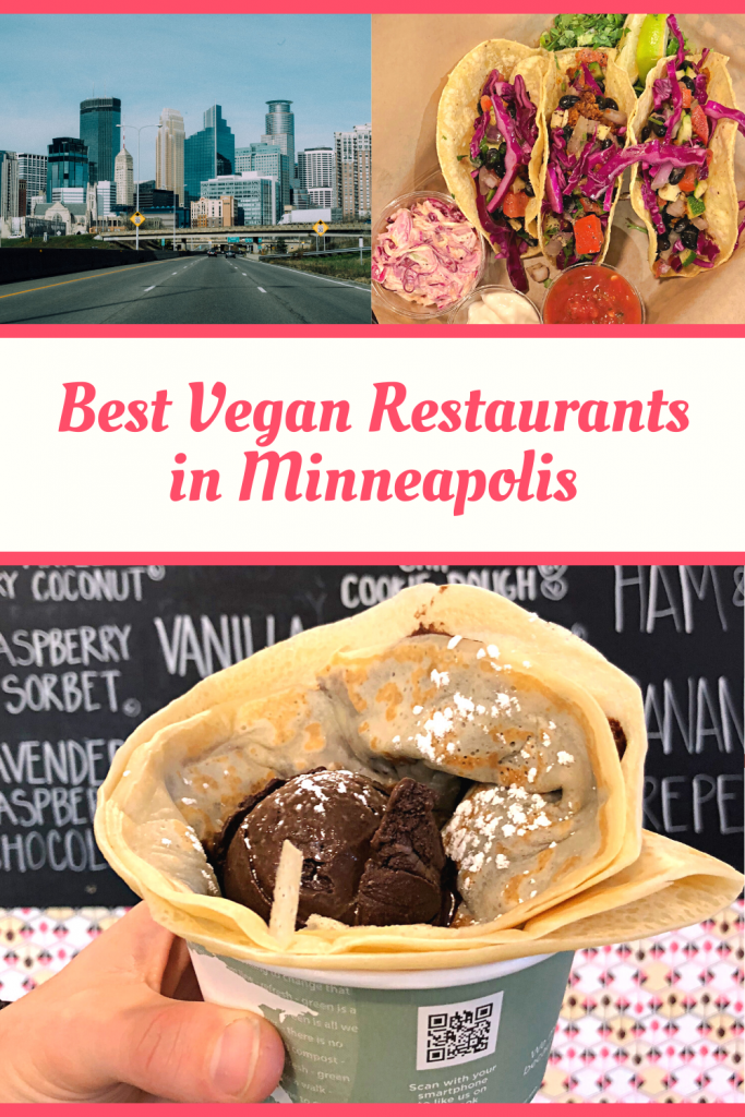 Vegan in Minneapolis? Don't worry! There are loads of vegan restaurants in Minneapolis and across the river in St. Paul! Here's a local's guide to the best vegan and vegan friendly restaurants in the twin cities!