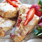 Vegan Scones - Strawberry & Cream