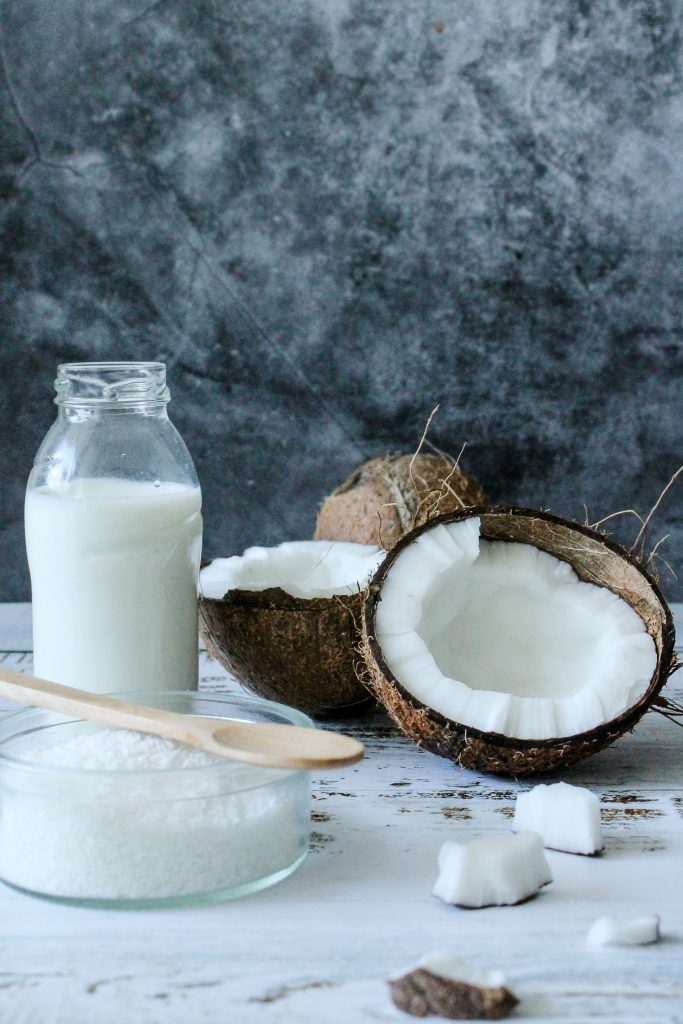 Best vegan milk on the market - coconut milk