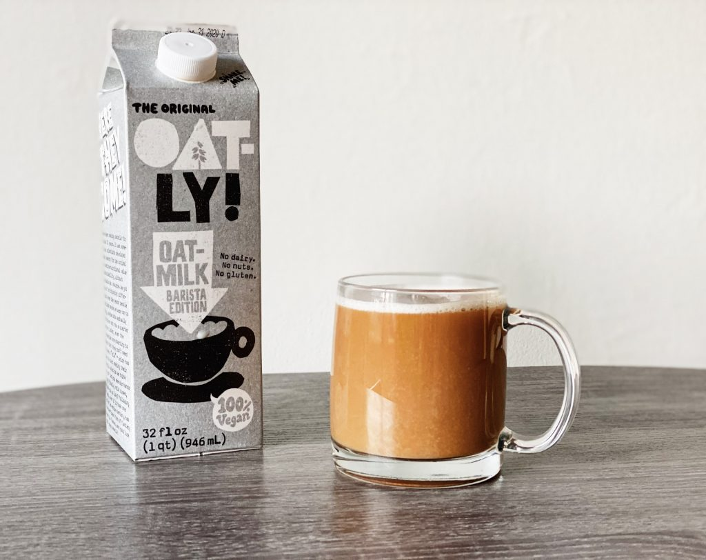 Oatly Vegan Oat Milk - Among best vegan milk for cofee