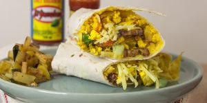 Vegan Breakfast Burrito Recipe - TEXAS STYLE!!